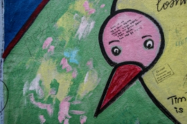 """Mural """"MONEY MACHINE"""" von Jim Avignon (Ausschnitt)"""