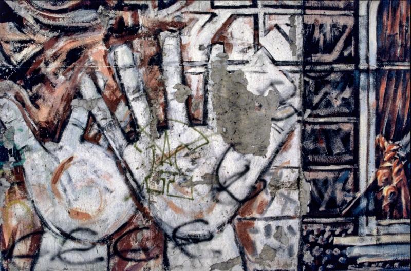 """Wandbild """"Hände"""" von Margaret Hunter und Peter Russell"""