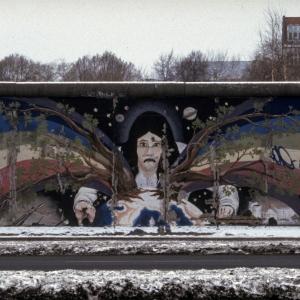 "Mural ""EUROPAS FRÜHLING"" von Catrin Resch"