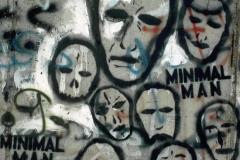 "Graffito ""MINIMAL MAN"""