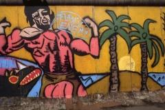 "Graffito ""PUBLIC ENEMY"""