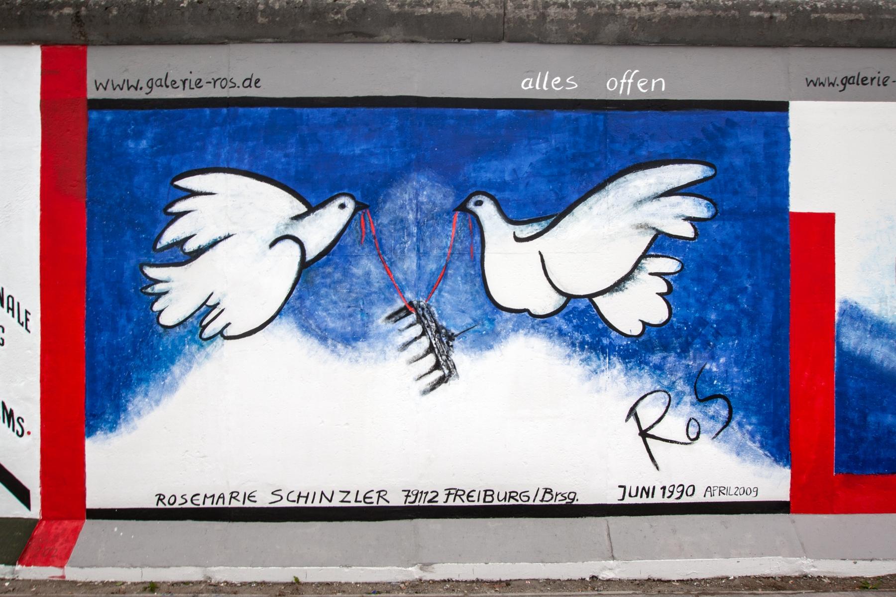 """Mural """"Ohne Titel"""" von Rosemarie Schinzler (Restaurierte Fassung)"""