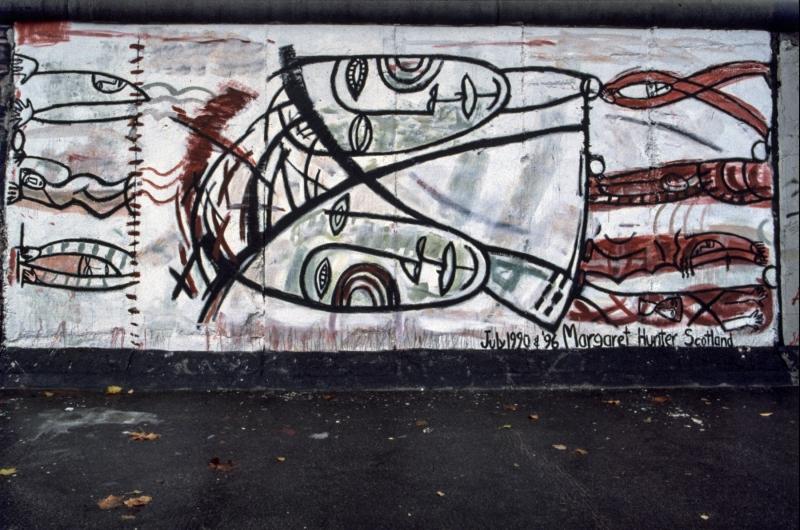 """Mural """"Joint Venture"""" von Margaret Hunter"""