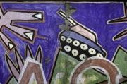 "Mural ""Doin it cool for the East Side"" von Jim Avignon (Ausschnitt)"