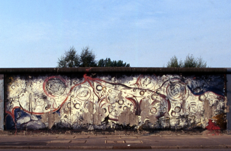 """Mural """"Götterdämmerung"""" von Gerald Kriedner ( † 2018)"""