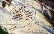 "Graffito ""*NOIR* by Shannon King, Katherine Gurney from Sydny, Australia"