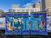 """Mural """"Himlen over Berlin"""""""