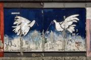 """Mural """"Ohne Titel"""" von Rosemarie Schinzler"""