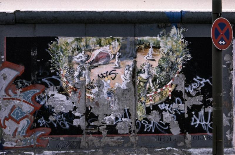 """Mural """"Flora geht"""" von Brigida Böttcher"""