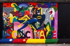 """Mural """"Sonic Malade"""" von Greta Scatlós (Restaurierte Fassung)"""