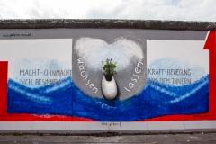 """Mural """"Wachsen lassen"""" von Rosemarie Schinzler (Restaurierte Fassung)"""