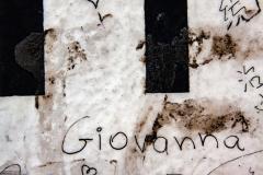 "Graffito ""Giovanna"" auf ""Detour to the Japanese Sector"""