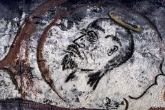 "Mural ""Götterdämmerung"" von Gerald Kriedner (Ausschnitt)"